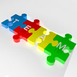 Team puzzle Stock Images