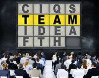 Team Puzzle Problem Solving Corporate Connection Concept Stock Photos