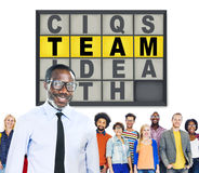 Team Puzzle Problem Solving Corporate Connection Concept Stock Images