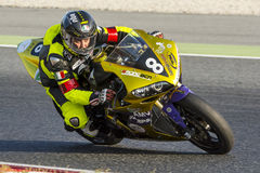 Team Racing BCN-EPS. 24 hours endurance Royalty Free Stock Photo