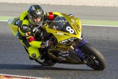 Team Racing BCN-EPS 24 Stunden Ausdauer Lizenzfreies Stockfoto