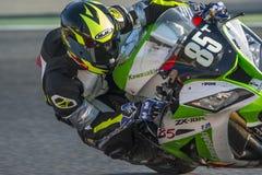 Team Racing 85 24 horas de resistencia Catalunya Foto de archivo