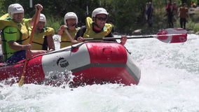 Team Rafters in Motion stock video