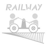 Team railway Royalty Free Stock Photo