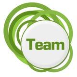 Team Random Green Rings stock illustrationer