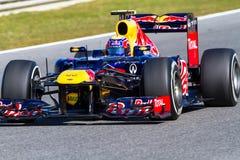 Team Red Bull F1, Mark Webber, 2012 Photos stock