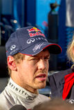Team Red Bull F1, Sebastian Vettel, 2013 Royalty Free Stock Images