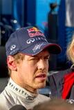 Team Red Bull F1, Sebastian Vettel, 2013 royalty free stock images