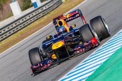 Team Red Bull F1, Sebastian Vettel, 2012 Royalty Free Stock Image