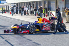 Team Red Bull F1, Mark Webber, 2012 Royalty Free Stock Images