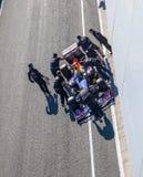 Team Red Bull F1, Sebastian Vettel, 2012 Stock Photography