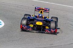 Team Red Bull F1, Sebastian Vettel, 2012 Stock Photo