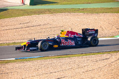 Team Red Bull Racing F1, Mark Webber, 2011 Royalty Free Stock Image
