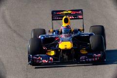 Team RedBull Racing F1, Mark Webber, 2011 Image libre de droits