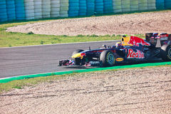 Team RedBull Racing F1, Mark Webber, 2011 Lizenzfreies Stockbild