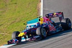 Team RedBull Racing F1, Mark Webber, 2011 Photos libres de droits