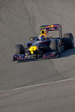 Team RedBull Racing F1, Mark Webber, 2011 Royalty Free Stock Photography