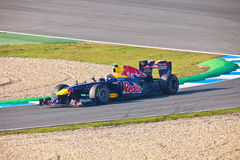 Team RedBull Racing F1, Mark Webber, 2011 Stock Photos