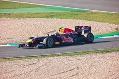 Team RedBull Racing F1, Mark Webber, 2011 Royalty Free Stock Photo