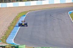 Team RedBull Racing F1, Mark Webber, 2011 Royalty Free Stock Photos