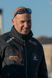 Team Renault Capture. Skipper Jorg Riechers. Royalty Free Stock Photography