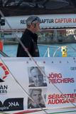 Team Renault Capture. Skipper Sebastien Audigane. Barcelona World Race Stock Photography