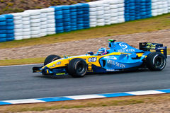 Team Renault F1, Franck Montagny , 2004 Stock Photography