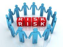 Team Risk Management Royaltyfri Foto