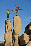 Team of rock climbers. Stock Photography