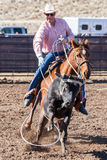 Team Roping Competition Stockbild