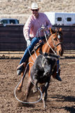 Team Roping in Wickenburg Royalty Free Stock Images