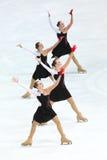 Team Russia One Arkivbilder