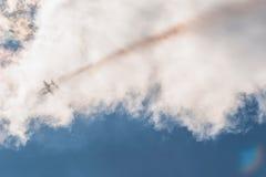 Team Russlands Rus aerobatic Kämpfer Albatros L-39 an MAKS Airshow 2015 Lizenzfreies Stockbild