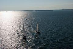 Team sailing Stock Photos
