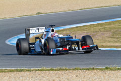 Team Sauber F1, Kamui Kobayashi, 2012 Stock Photography