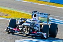 Team Sauber F1, Kamui Kobayashi, 2012 Stock Image
