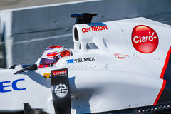 Team Sauber F1, Kamui Kobayashi, 2012 Royalty Free Stock Photo