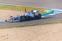 Team Sauber F1, Sergio Perez, 2011 Royalty Free Stock Image
