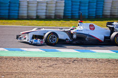 Team Sauber F1, Sergio Perez, 2011 Stock Images