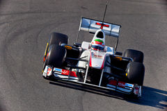 Team Sauber F1, Sergio Perez, 2011 Royalty Free Stock Images