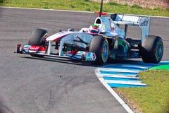 Team Sauber F1, Sergio Perez, 2011 Stock Photos
