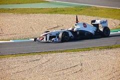 Team Sauber F1, Sergio Perez, 2011 Stock Image