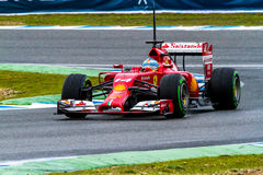 Team Scuderia Ferrari F1, Fernando Alonso, 2014 Stock Photo