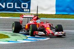 Team Scuderia Ferrari F1, Fernando Alonso, 2014 Stock Photo