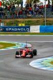Team Scuderia Ferrari F1, Fernando Alonso, 2014 Royalty Free Stock Photo