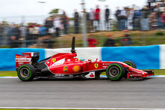 Team Scuderia Ferrari F1, Fernando Alonso, 2014 Royalty Free Stock Photo