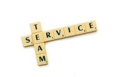 Team service Royalty Free Stock Photos