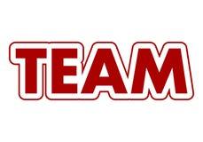 Team Sign Lizenzfreie Stockfotografie