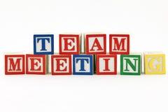 Team-Sitzung Lizenzfreie Stockfotografie