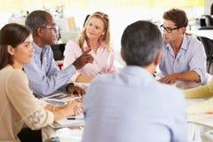 Team-Sitzung im kreativen Büro Stockfoto